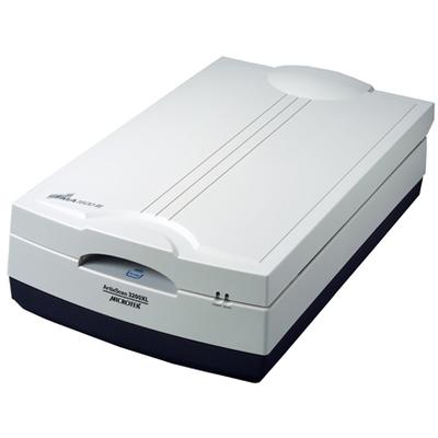 Microtek ArtixScan 3200XL Scanner - Zwart, Grijs