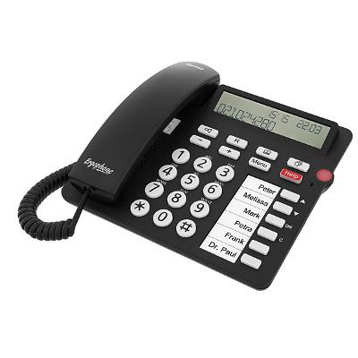Tiptel 1081000 Dect telefoon - Zwart