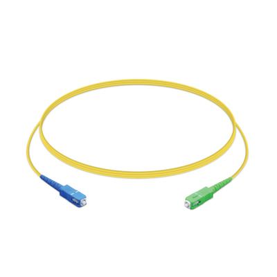 Ubiquiti Networks SC/UPC to SC/APC, SM G.657A1 fiber, Simplex, 2.0mm jacket PVC, 1.5m length Fiber .....