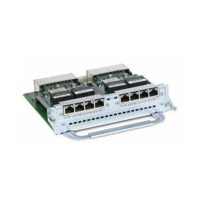 Cisco switchcompnent: 8 Port Channelized T1/E1 and ISDN PRI Network Module