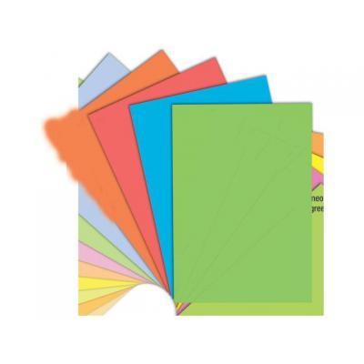 Staples papier: Papier SPLS A4 120g oranje/pak 250v