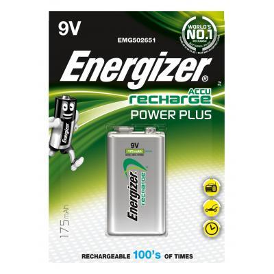Energizer ENRPP3P1 batterij - Zwart, Zilver