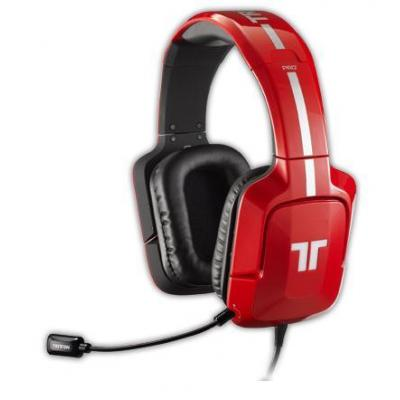 Tritton headset: Pro+ True 5.1 Surround - Rood