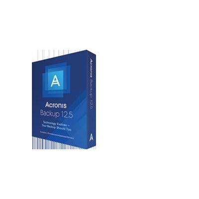 Acronis Backup 12.5 Advanced for Workstation Garantie