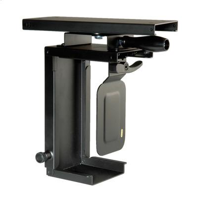 ROLINE Mini-PC-Halter, uittrekbaar, draaibaar, zwart Cpu steun