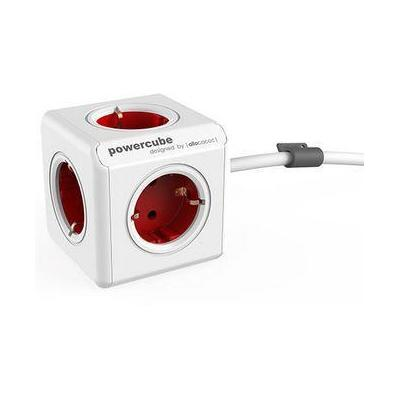 Microconnect PowerCube docking station Surge protector - Rood, Wit