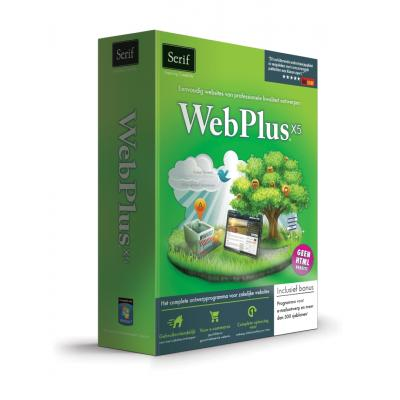 Serif grafische software: WebPlus X5