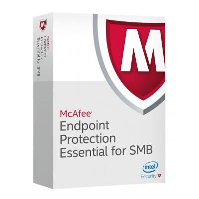 Mcafee Endpoint  Protection Essential for SMB software