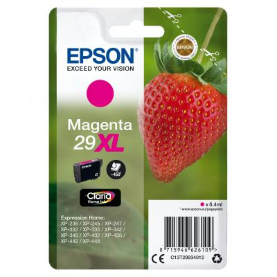 Epson inktcartridge: Single pack Magenta 29XL Claria Home Ink