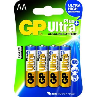 Gp batteries batterij: Ultra Plus Alkaline AA - Multi kleuren