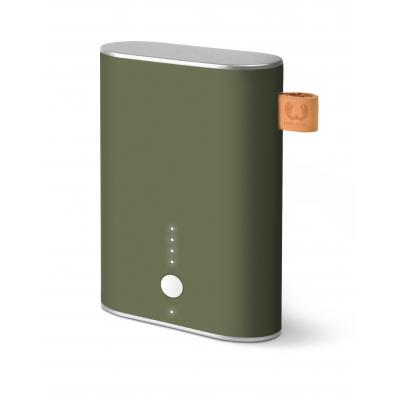 Fresh 'n rebel powerbank: Powerbank 9000 mAh - Army - Groen