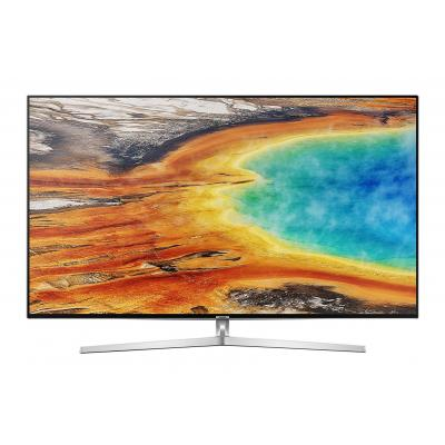Samsung led-tv: UE49MU8009 - Zwart, Zilver