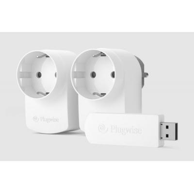 Plugwise elektrische meter: Start Source - Wit