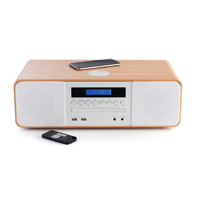 Thomson 50 W, Bluetooth, USB, AAA Home stereo set - Wit