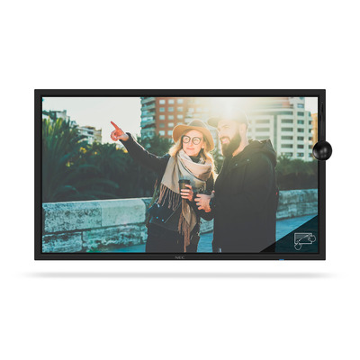 NEC MultiSync C751Q SST Public display - Zwart
