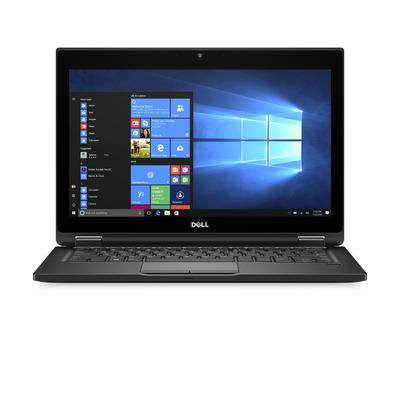 Dell laptop: Latitude 5289 - Zwart