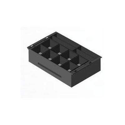 Apg cash drawer geldkistlade: Insert for STD2000 – A Robust High Volume Cash Drawer - Zwart