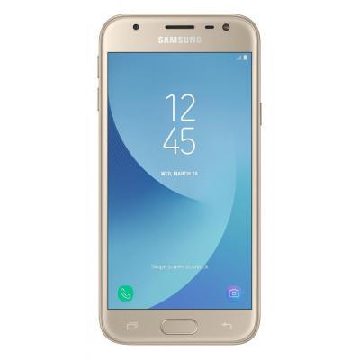 Samsung smartphone: Galaxy SM-J330F - Goud 16GB