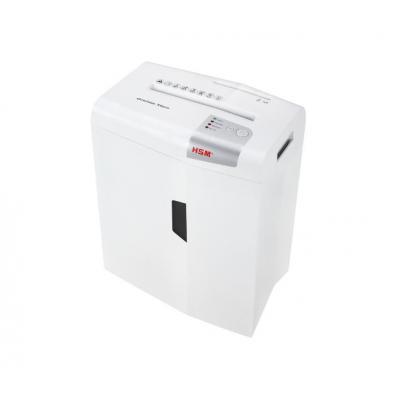 Hsm papierversnipperaar: X6pro - Zilver, Wit
