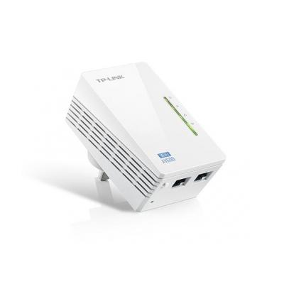 Tp-link powerline adapter: AV600 - Wit