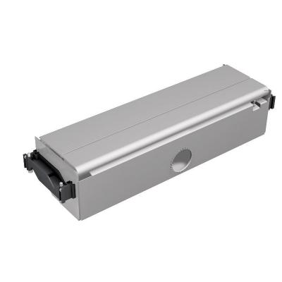 Bachmann : CONFERENCE built-in frame for below table long silver - Zilver