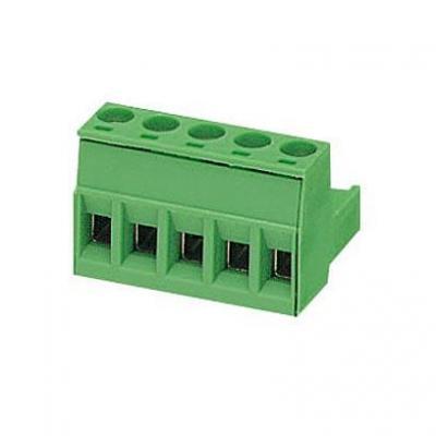 Phoenix contact elektrische aansluitklem: MSTB 2.5/ 5-ST-5.08 - Groen