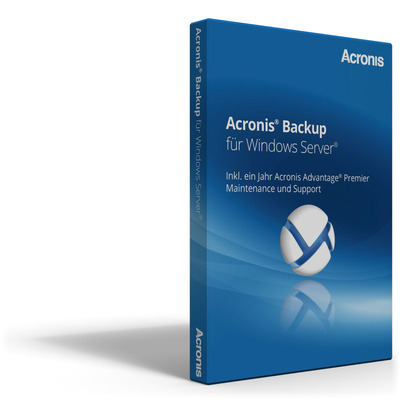 Acronis Backup for Windows Server Software licentie