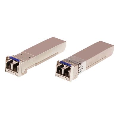 ATEN 10G Single Modus/10KM Fiber SFP+ Module Netwerk tranceiver module - Roestvrijstaal