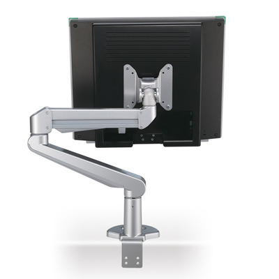 ROLINE LCD Monitor Stand Pneumatic, Desk Clamp, Pivot 2 Joints Monitorarm