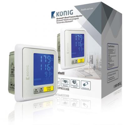 König bloeddrukmeter: Li-ion battery, 209 g