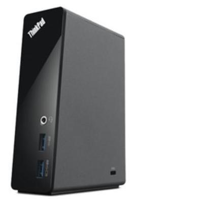 Lenovo docking station: ThinkPad Basic USB 3.0 Dock - Zwart