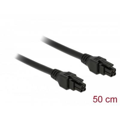 DeLOCK Micro Fit 3.0 Cable 4 pin male > male 50 cm