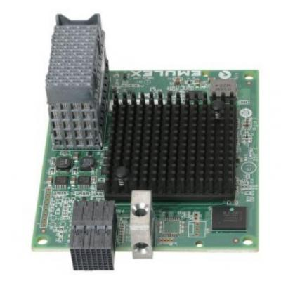 Lenovo fiber optic adapter: ThinkSystem Emulex LPm16002B-L Mezz 16Gb 2-Port Fibre Channel Adapter - Groen