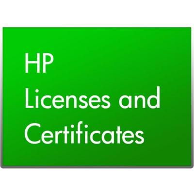 Hp software licentie: Access Control Express 1-9 E-LTU