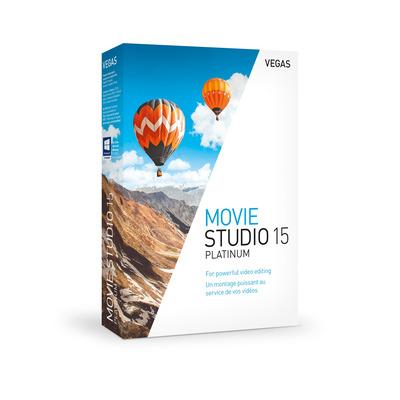 Magix VEGAS Movie Studio 15 Platinum grafische software