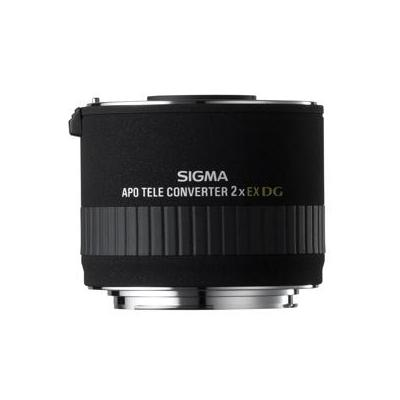 Sigma lens adapter: 2,0x Teleconverter EX DG APO Nikon - Zwart