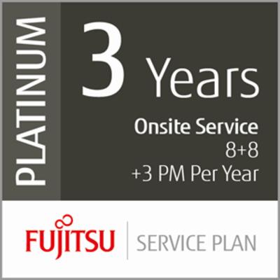 Fujitsu 3 Years Onsite Service 8+8+3PM Garantie