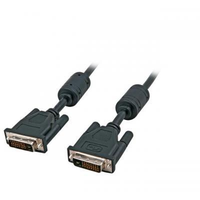 EFB Elektronik 15m DVI-D - DVI-D DVI kabel  - Zwart