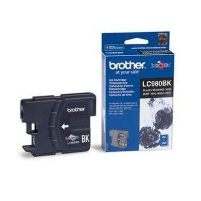 Brother LC-980BK Inktcartridge - Zwart