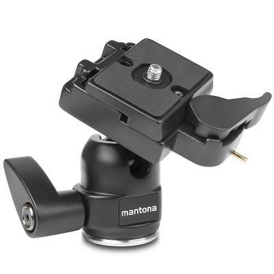 Mantona statiefkop: 18008 - Zwart