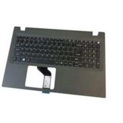 Acer notebook reserve-onderdeel: Upper Cover/Keyboard - Grijs