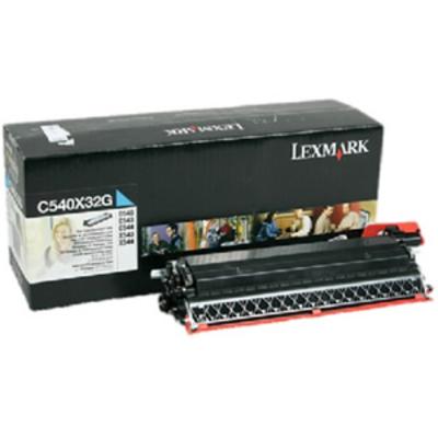 Lexmark C54x, X54x 30K cyaan developer unit Ontwikkelaar print