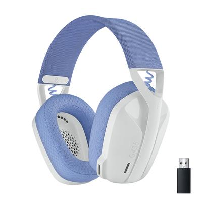 Logitech G G435 Headset - Blauw,Wit