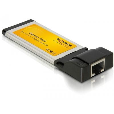 DeLOCK Gigabit Ethernet ExpressCard Adapter Netwerkkaart