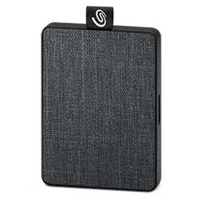 """Seagate One Touch SSD, 400MB/s, 2.5"""", Black, 1TB - Grijs"""
