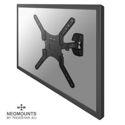 """Newstar montagehaak: De NM-W325BLACK is een kantel- en zwenkbare wandsteun voor flat screens t/m 52"""" (130 cm) - Zwart"""