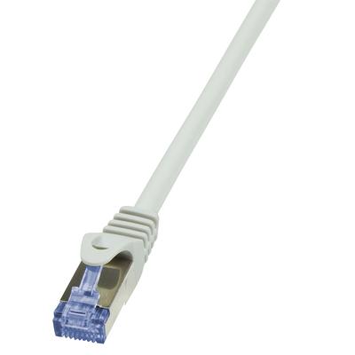 LogiLink 10m Cat.6A 10G S/FTP Netwerkkabel - Grijs