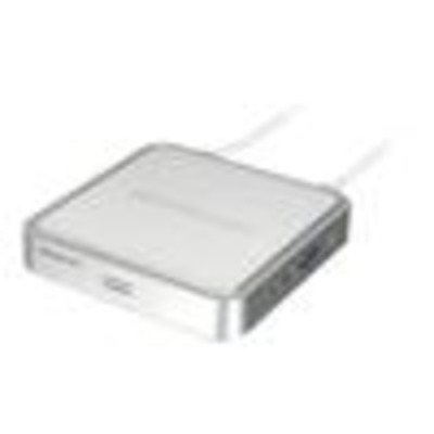 Iogear KVM switch: MiniView USB KVM Switch with cables and audio - Zilver