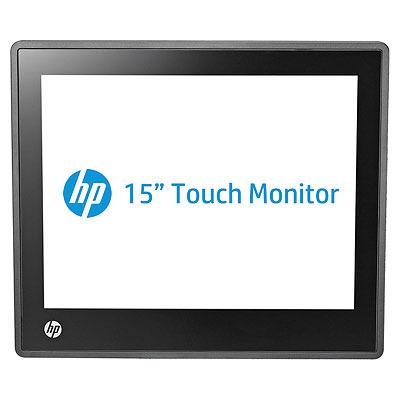 Hp touchscreen monitor: L6015tm - Zwart