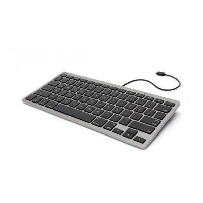 Griffin mobile device keyboard: Wired keyboard with Lightning connector, US  - Grijs, QWERTY